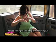 Female Fake Taxi Big tits babe licks hot shaven...