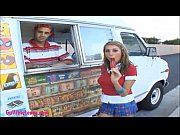 icecream truck perfect titty teen gets plowed h...