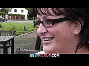 bbw rides stranger's huge dick