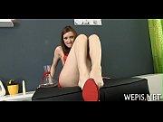 Порно массаж переходящий в секс видео