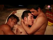 Real home video of drunk guys comparing their cocks