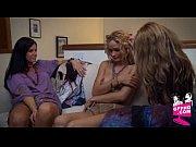 Розовая грудастая блондинка видео