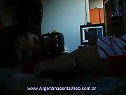 Девушка в прозрачных стрингах порно