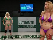 Lesbians naked wrestling and strapon cock anal ...
