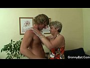Picture Old woman pleases hot younger stud