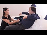 Asian office babe PussyKat gets a hard dick in ...