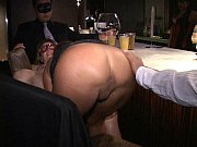Big nipple masked MILF Carla eats out cunt and ...