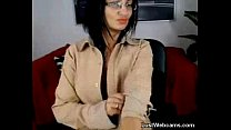 webcam on herself with plays milf Mature