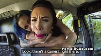 Lesbian cab driver spanking and licking porn videos