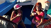 LatinaChicks.com Daniela y Lulu Pretel First Ti...