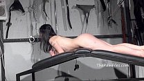 Whipped Fae Corbins hardcore spanking and stric...