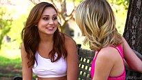 Petite Teens Ariana Marie and Kota Sky Lesbian ...