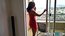 PropertySex - Curvy real estate agent falls in love with client porn videos