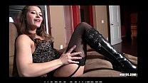 Sexy teen Dani Daniels shows off her stockings ...