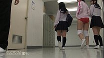 innocent school girl gives blowjobs and hand jo...