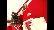 lingerie in tease strip holiday a does Blonde