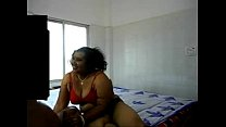 Fat But Very Horny Desi Auntie Getting Fucked By Her Young Lover thumbnail