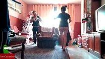 christmas nanny brings sexy gifts at home – Free Porn Video