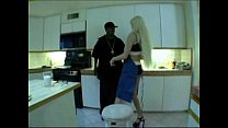 Blonde MILF with long nails blowing and getting...