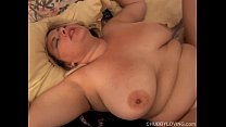 Beautiful busty blonde BBW is a super hot fuck