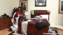 Young Guy Goes Balls Deep In His Own Stepmom!