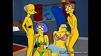 orgy hard hentai Simpsons
