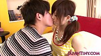 on jizzed tits gets airi miku pornstar Asian