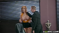 sweet redhead lauren phillips gets her twat nailed