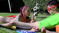 BANGBROS - Sliping and Sliding with Busty Stepmom Monique Alexander