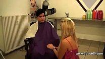 deutsche geile teeny friseurin fickt mit kunden und chef