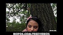 Playful perky-tit brunette Jessyca Swan loves r...