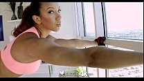 sophia fiores athletic anal workout   exotic4k