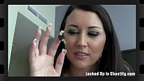 Your chastity device looks really tight