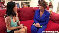 Milf DeauxmaLive Scissors Angie to Sell Her House!