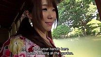Subtitled uncensored Japanese Hitomi Oki forepl...