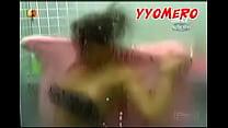 shower! at nipslip brother big celeb mexican campomanes Fabiola