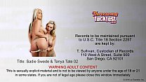 threesome in dick share tate tanya and swede Sadie