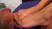 compilation feet on cumshots maniacs barefoot - rios Julian