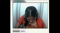 tamil gal with nice boobs on cam ...