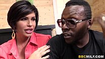 big titted cougar shay fox having sex with a black dude