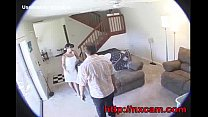 Maid Fucks Husbands Wife On Baby Cam porn videos