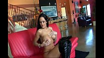 Busty brunette fucked in black thigh high boots porn videos