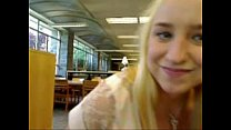 xhamstercom library in squirts blonde Sexy