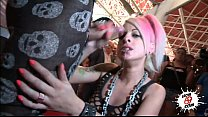 LECHE 69 Pink Hair babe fucked in Public