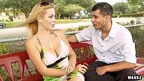 WANKZ- Titanic Tits on Blond milf Kylie Knight
