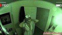 Nurse Julia Ann Visits For an Oral Exam!