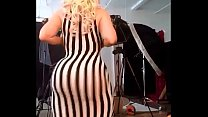 sexy pawg whooty show off n tight dress must see