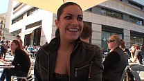 latina amazing with street the in Flirting