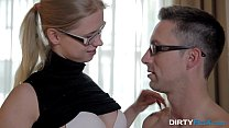 Dirty Flix - Studying and fucking with nerdy teeny