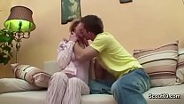 Sister Seduce Step-Brother to Fuck in the Morni...